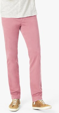 Joe's Jeans The Brixton Straight + Narrow Men's Jeans in Desert Rose/Pink | Size 33 | Cotton/Spandex