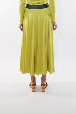 Teeming Skirt in Chartreuse