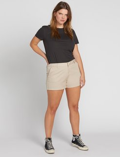 Volcom Frochickie Shorts - Oxford Tan - Oxford Tan - 24W