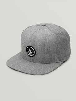 Volcom Quarter Twill Hat - Grey - Grey - O/S
