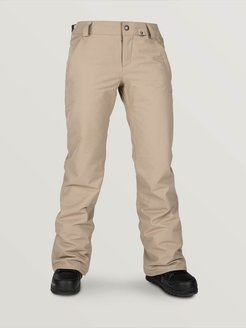 Volcom Womens Frochickie Insulated Pants - Sand Brown - Sand Brown - S