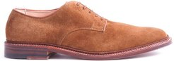 Unlined Suede Plain Toe Blucher In Snuff