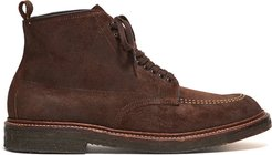 x Todd Snyder Exclusive Indy Boot in Reverse Tobacco Chamois