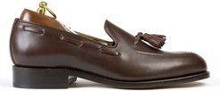 Finchley Tassel Loafer in Brown Calf Leather