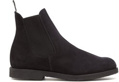 Chelsea Boots in Black Suede