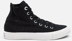 Chuck Taylor All Star Hi Sneakers in Black/White/White Bandier