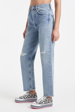 90's Mid Rise Loose Fit Jeans in Captured Bandier