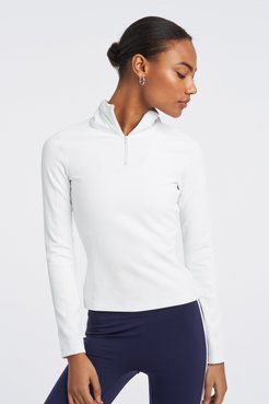 Thermal Runner Top in White Size Small Bandier