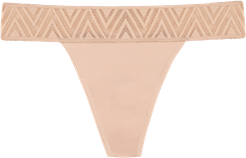 Thong Period Underwear - Beige In Sizes XXS-3XL Undies Afterpay Payment Options