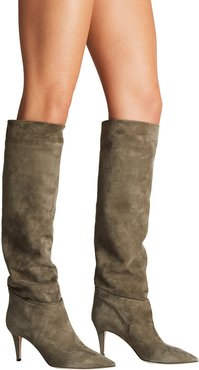Icon High-Heel Knee-High Slouch Boots