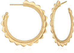 Rise with the Sun Gold Earrings
