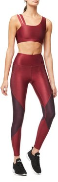 High Waisted The Freestyle Legging Bordeaux001, Plus Size 5