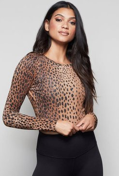 The All In Open-back Top Cheetah001, Size 2