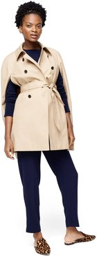HATCH Maternity The Trench Cape, Khaki, Size 3 (L-XL)
