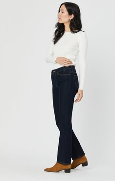 Kendra Straight Leg In Rinse Supersoft