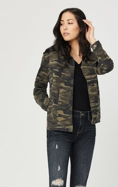 Karla Jacket In Military Camouflage