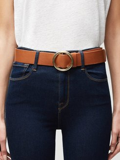 Le Circle Belt Whiskey Size L