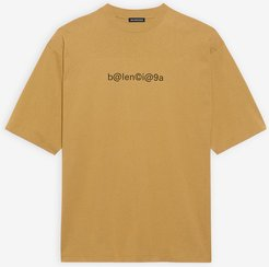 Symbolic Large Fit T-shirt Beige/black