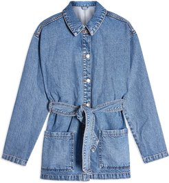 Denim outerwear