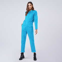 Sloomoo Jumpsuit in Turquoise