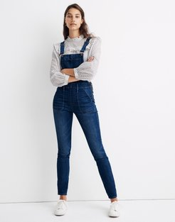 Tall Skinny Overalls in Groveland Wash