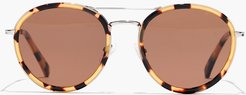 Brennan Acetate Aviator Sunglasses