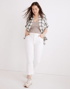 Tall Cali Demi-Boot Jeans in Pure White