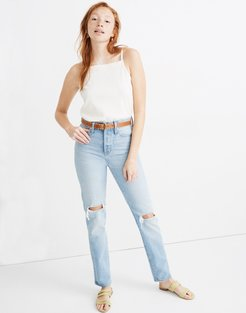 Classic Straight Full-Length Jeans in Hartsville Wash