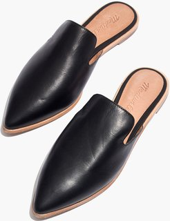 The Gemma Mule in Leather