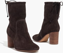 The Neva Foldover Boot in Suede