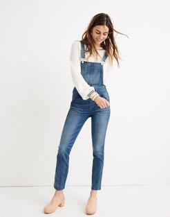 Tall Skinny Overalls in Jansing Wash