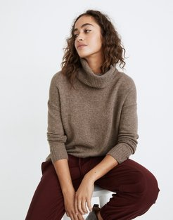 (Re)sourced Cashmere Turtleneck Tunic Sweater