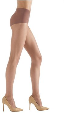 Ultra Bare Sheer Tights - Honey - Size Small