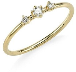 Core Sancia Diamond & 14K Yellow Gold Ring - Gold - Size 7