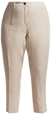 Rende Crop Trousers - Colonial - Size 22 W