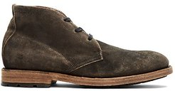 Bowery Suede Chukka Boots - Faded Black - Size 7.5