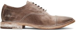 Paul Bal Leather Oxfords - Stone - Size 13 M
