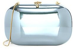 Elina PLUS Mirrored Clutch - Jade