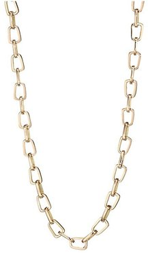 Pop Top 18K Yellow Gold Chain Necklace - Gold