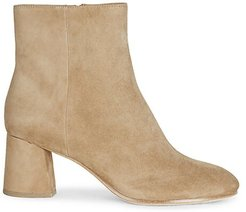 Rarly Suede Ankle Boots - Camel - Size 37 (7)