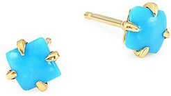 Primary Princess 14K Yellow Gold Turquoise Earrings