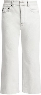Wide-Leg Jeans - Cement - Size 31