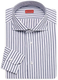Striped Dress Shirt - Blue (15.5)