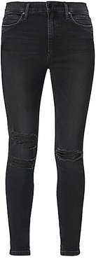 Charlie Skinny Ankle Ripped Jeans - Bandit - Size 27 (4)