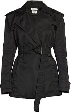 Belted Trench Coat - Nero - Size 38 (2)