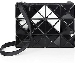 Mini Lucent Crossbody Bag - Black