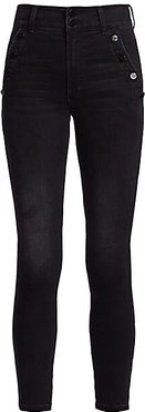 High-Rise Ankle Skinny Jeans - Alamo - Size 25 (2)