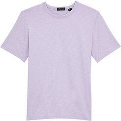 Topstitching Jersey T-Shirt - Vervain - Size Small