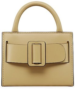 Bobby Surreal Leather Tote - Polenta