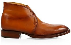 Evan Leather Chukka Boots - Light Brown - Size 11.5